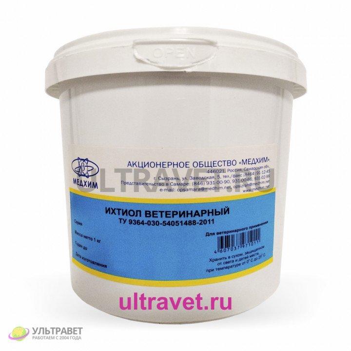 Ихтиол ветеринарный (Медхим), 1 кг