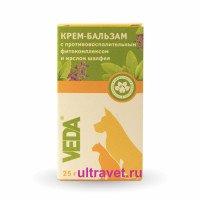 Крем-бальзам с противовоспалительным фитокомплексом и маслом шалфея, Veda