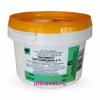 Линимент синтомицина  5%, Фармакс, 200 гр
