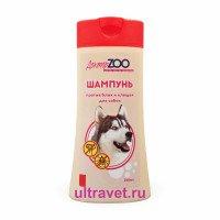 Шампунь ДокторZOO для собак против блох и клещей