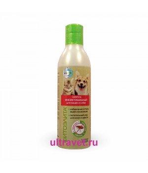 Шампунь ФитоЭЛИТА® инсектицидный для кошек и собак, 220 мл