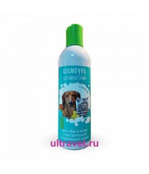 Шампунь VEDA деликатный для собак и кошек, 220 мл