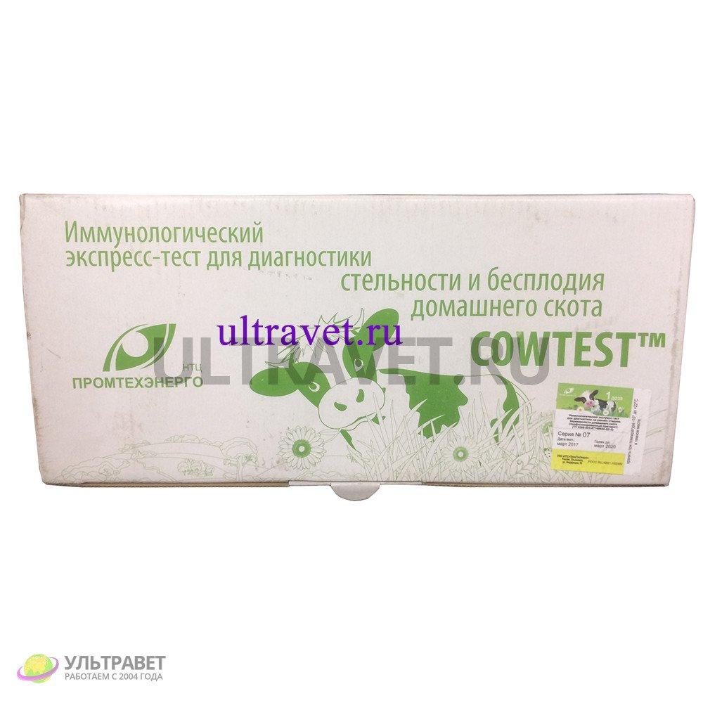 COWTEST® для диагностики стельности и бесплодия домашнего скота