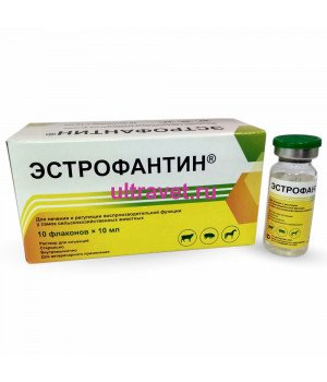Эстрофантин (1 флакон 10 мл)
