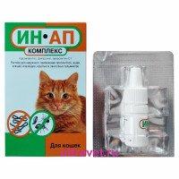 ИН-АП Комплекс для кошек (фл. 1 мл)