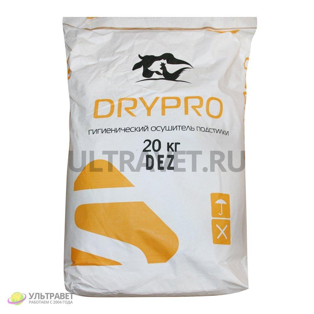 Осушитель подстилки DryPro Dez с дезинфицирующим эффектом, 20 кг