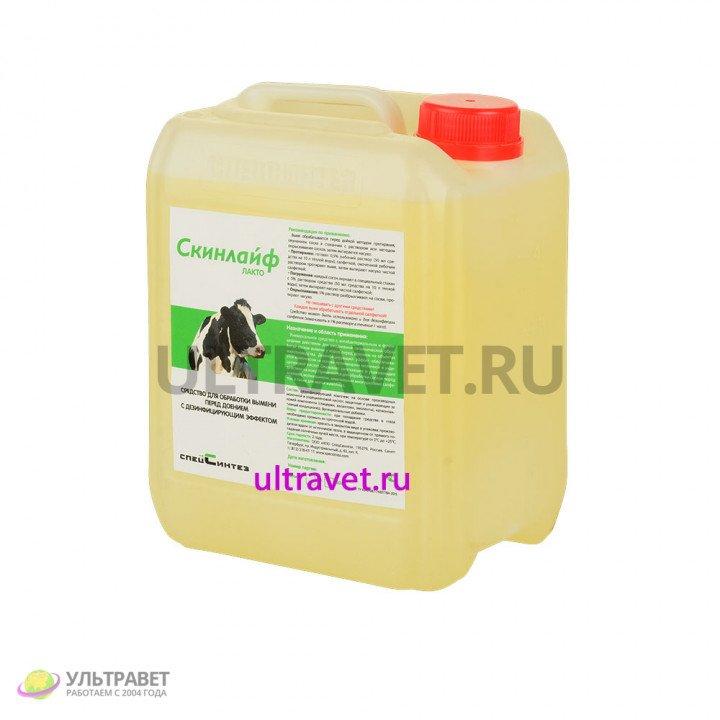 Скинлайф Лакто средство для обработки вымени перед доением с дезинфицирующим эффектом