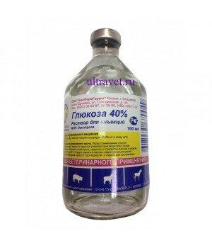 Глюкоза 40% раствор для инъекций, БФГ