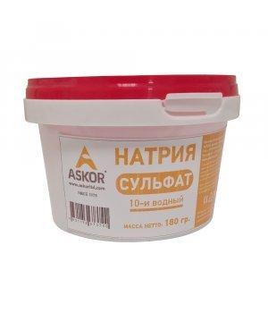 Натрия сульфат 10-ти водн. (Глауберова соль - ПРИРОДН. происх.)