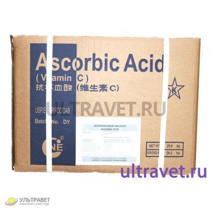 Субстанция Аскорбиновая кислота фармакопейная
