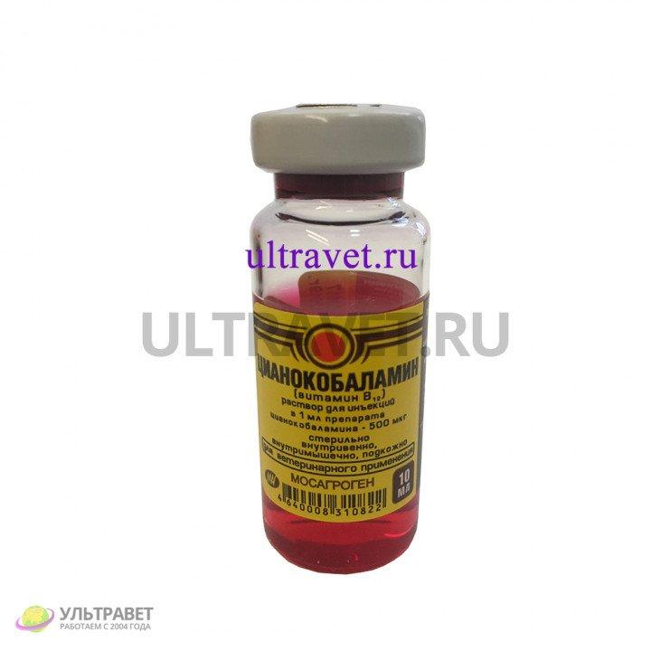 Цианокобаламин (витамин B12) для животных