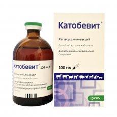 Катобевит раствор для инъекций (аналог Катозала), 100 мл