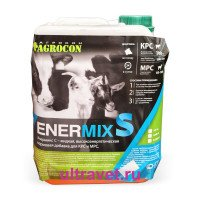 Кормовая добавка ENERMIX S до и после отела (25% пропиленгликоль), 6 кг