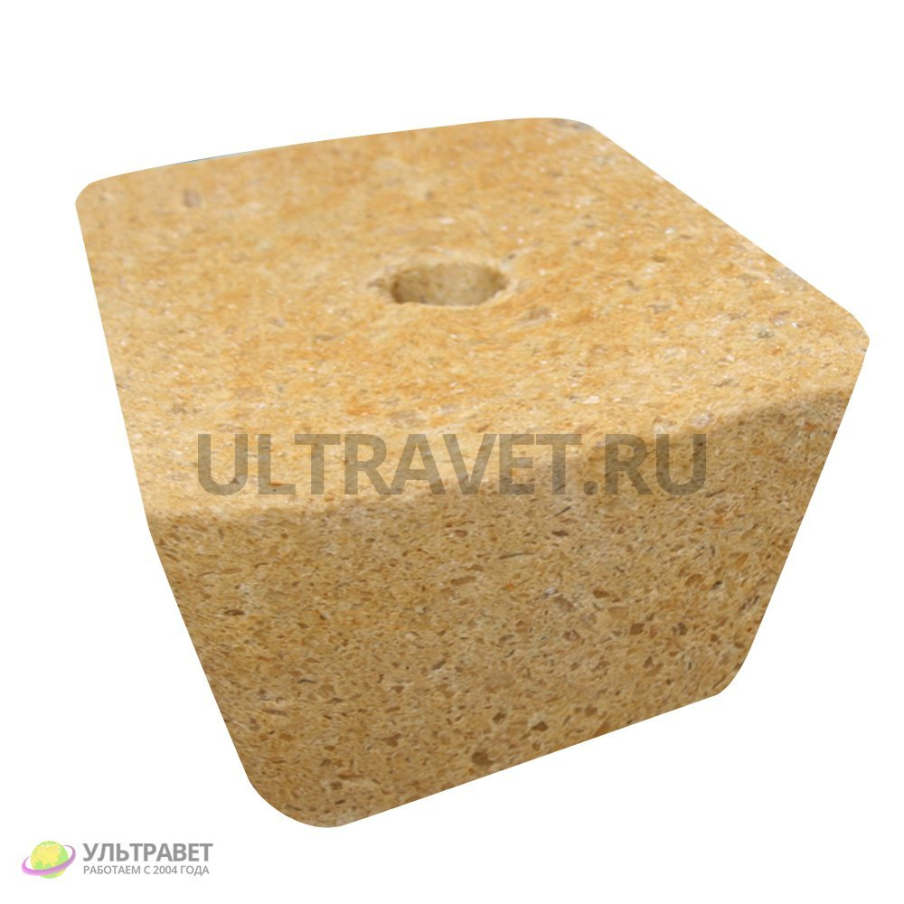 Лизунец ЛИМИСОЛ-Йодокальцит Премиум для КРС и теля (брикет 5 кг)