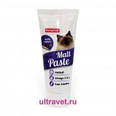 Паста Malt Paste для кошек для вывода шерсти из ЖКТ, Beaphar, 25 гр