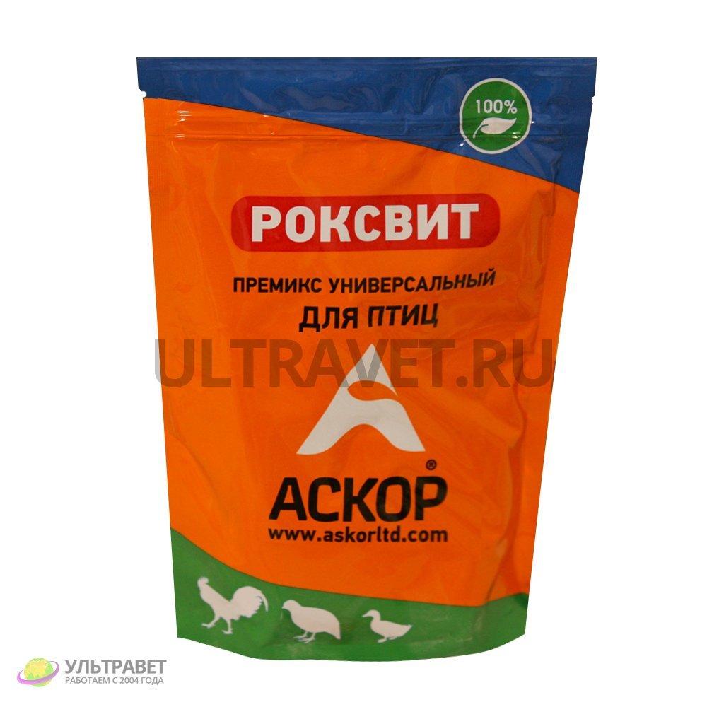 Премикс Роксвит универсальный для птиц (комплексная кормовая добавка), 900 гр