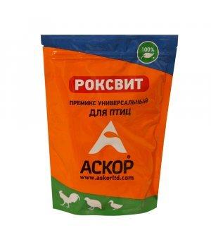 Премикс Роксвит универсальный для птиц (Askor), 900 гр
