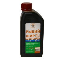 Рыбий жир ГОСТ 1304-76 (Askor), 1 л