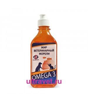 Рыбий жир форели ветеринарный OMEGA3, 250 мл