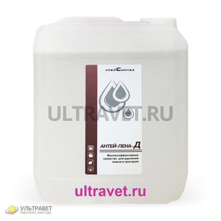 Антей-Пена-Д высокоэффективное средство для удаления жиров и пригаров, 5л