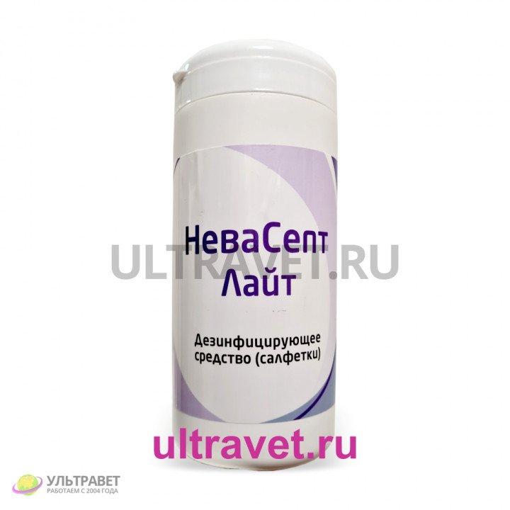 Дезинфицирующие салфетки НеваСепт Лайт, 80 шт.