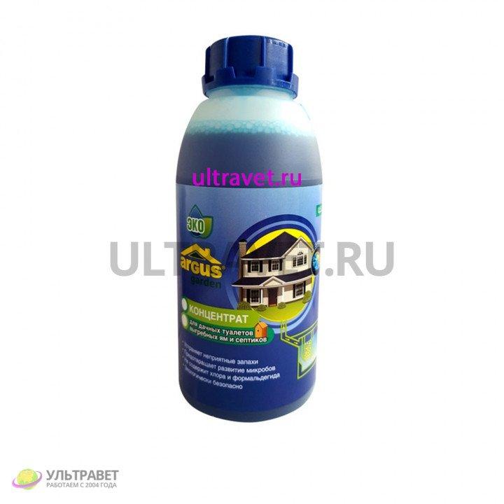 Средство для выгребных ям, септиков, дачных туалетов Argus Garden (жидкость 0,5 л)