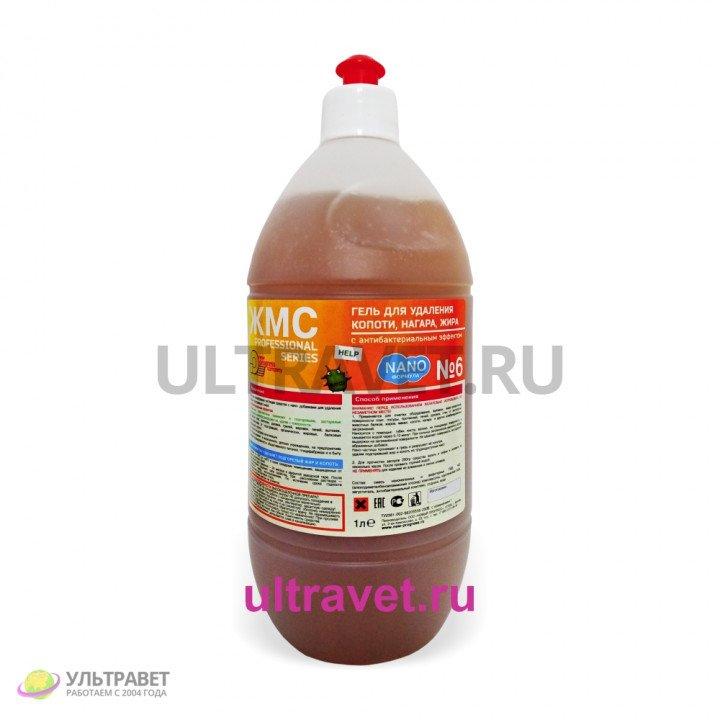 ЖМС №6 – гель для удаления копоти, нагара, жира, 1 л