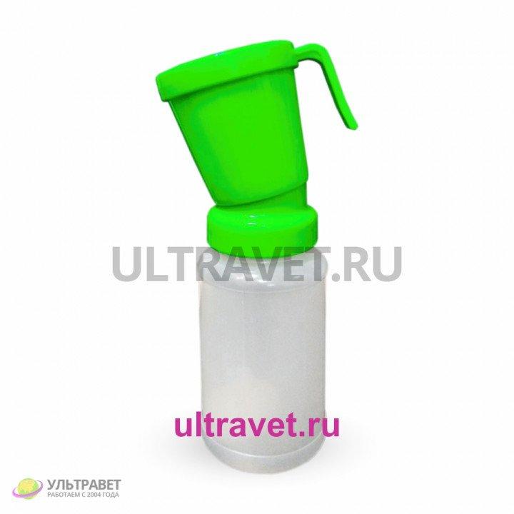 Стаканчик пенный с клапаном для дезинфекции сосков вымени , 300 мл