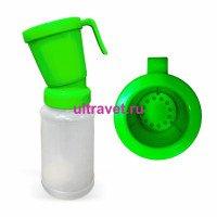 Дезинфектор (стаканчик) пенный с клапаном для сосков вымени, 300 мл