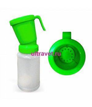Дезинфектор (стаканчик) пенный ЗЕЛЕНЫЙ для сосков вымени, 300 мл