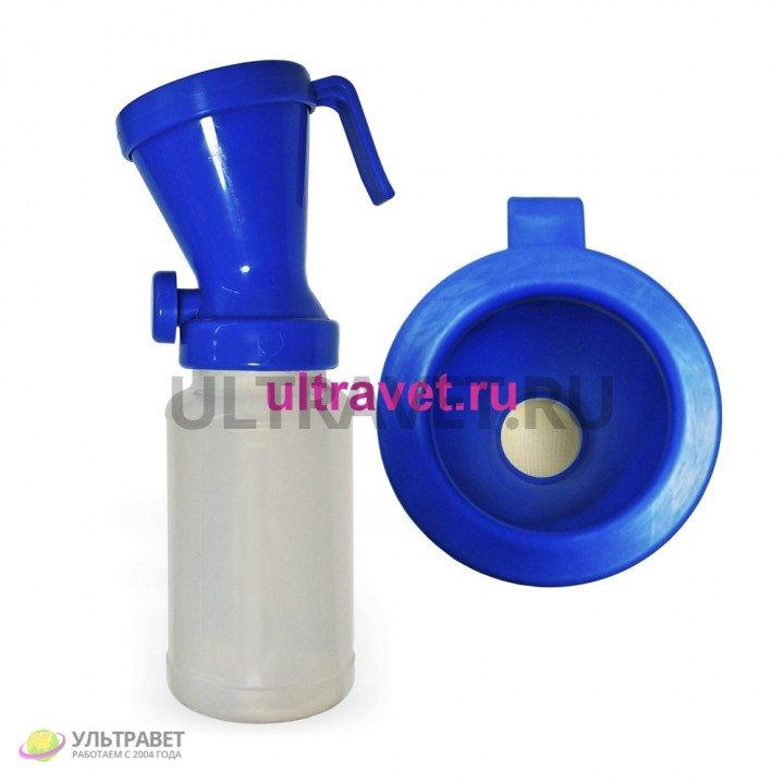 Дезинфектор (стаканчик) вертикальный для обработки пеной с регулировочным клапаном, 300 мл