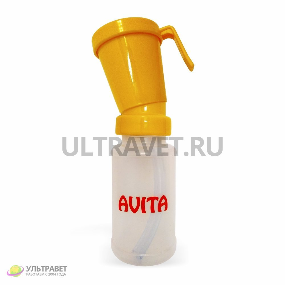 Дезинфектор (стаканчик) для сосков вымени вертикальный возвратный, 300 мл