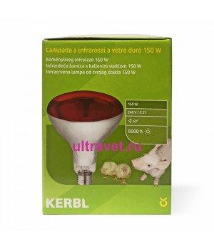 Лампа инфракрасная Kerbl из закалённого стекла (150W, 175W, 250W)