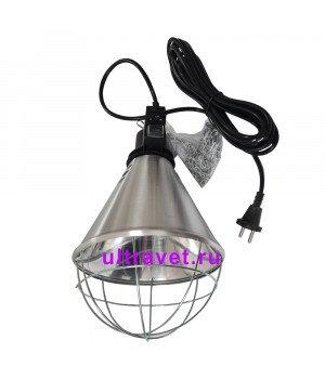 Инфракрасный теплоизлучатель (абажур алюминиевый)