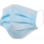 Маска медицинская защитная 3-х слойная, одноразовая