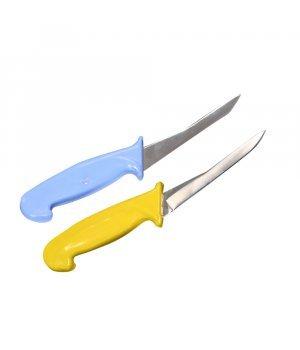 Нож хирургический ветеринарный (синий, желтый)