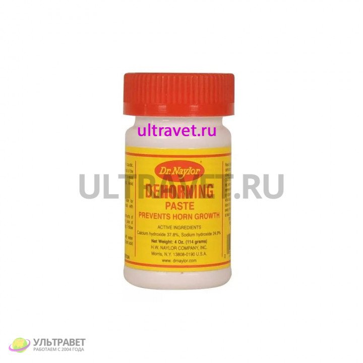 Паста для удаления рогов Dr. Naylor Dehorning, США, 114 гр