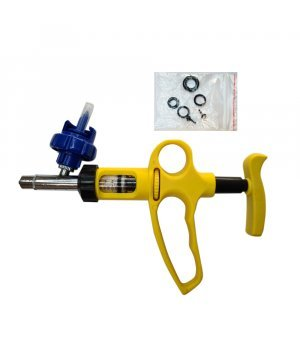 Шприц-вакцинатор автоматический с держателем для бутылки
