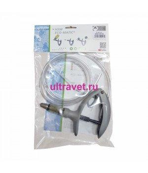 Шприц-вакцинатор HSW ECO-MATIC® с трубкой, Луер-Лок, 5 мл