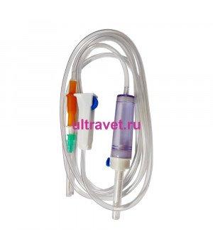 Система инфузионная с пластик. иглой однократн. применения SFM