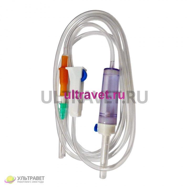 Система инфузионная с пластиковой иглой однократного применения SFM