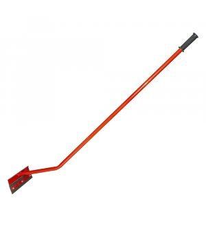 Скребок для навоза с ручкой обрезиненный (30 см, 40 см)