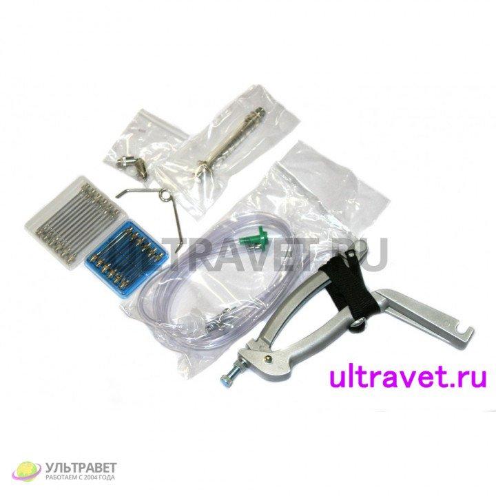 Шприц вакцинатор-дозатор МИН (тип Шилова) для массовых прививок