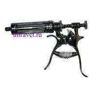 Шприц-вакцинатор металлический, 30 мл