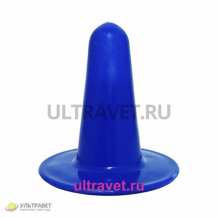 Заглушка сосковой резины синяя