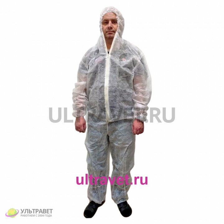Одноразовый комбинезон (костюм) КАСПЕР
