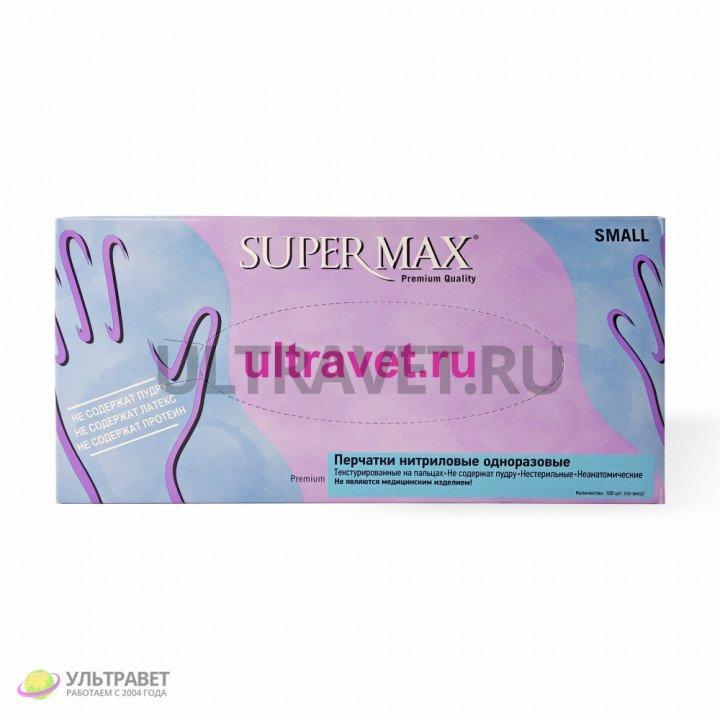 Перчатки нитриловые одноразовые Super Max