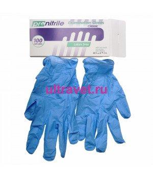 Перчатки для обследования PRONITRILE (100 шт.)