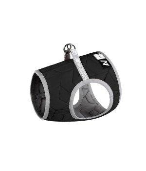 Шлея мягкая AiryVest ONE (XS3), цвет черный