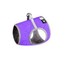 Шлея мягкая AiryVest ONE (XS3), цвет фиолетовый